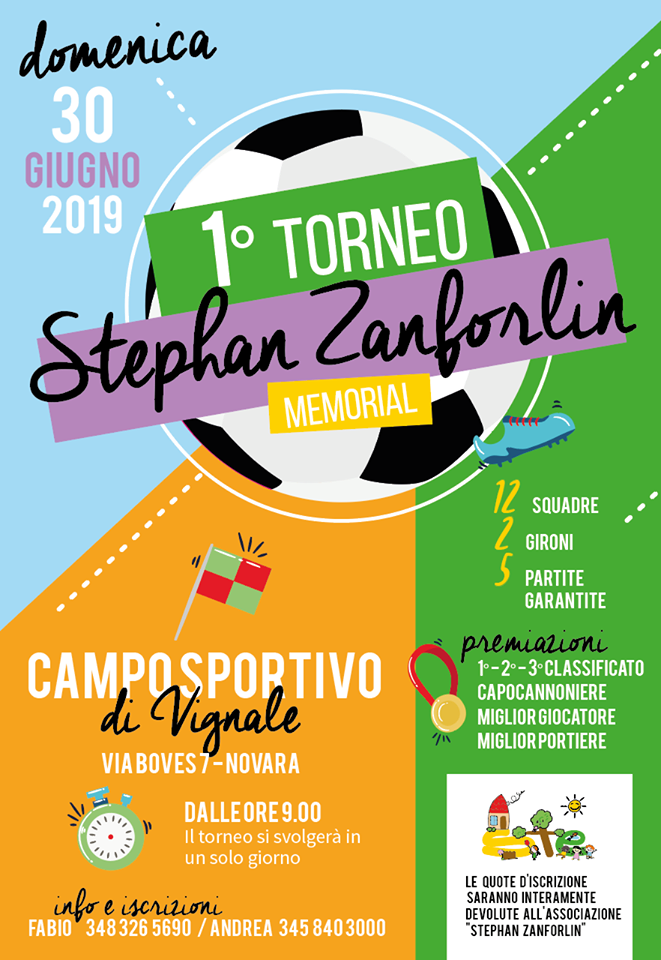 locandina 1° torneo Stephan Zanforlin